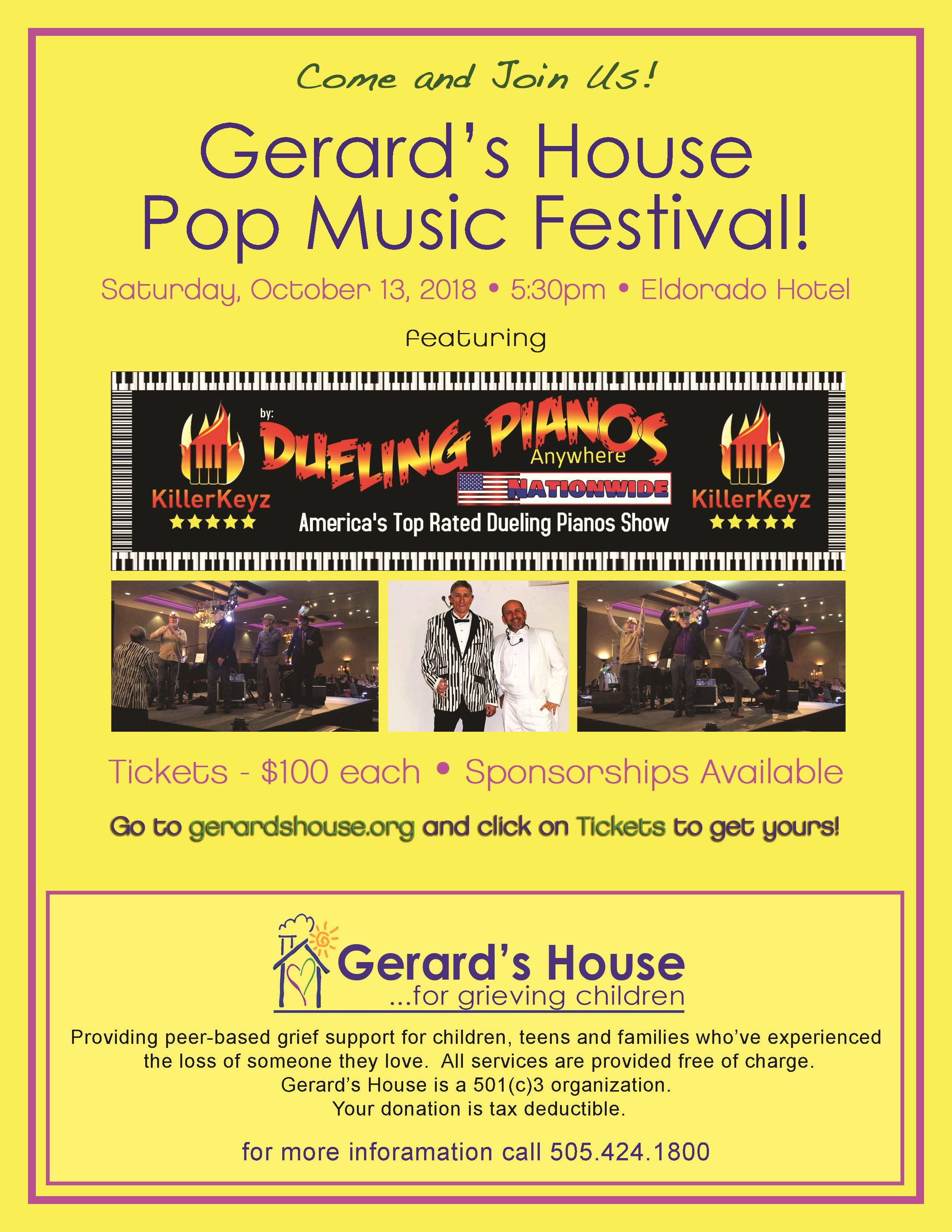 Pop Music Festival @ Eldorado Hotel & Spa