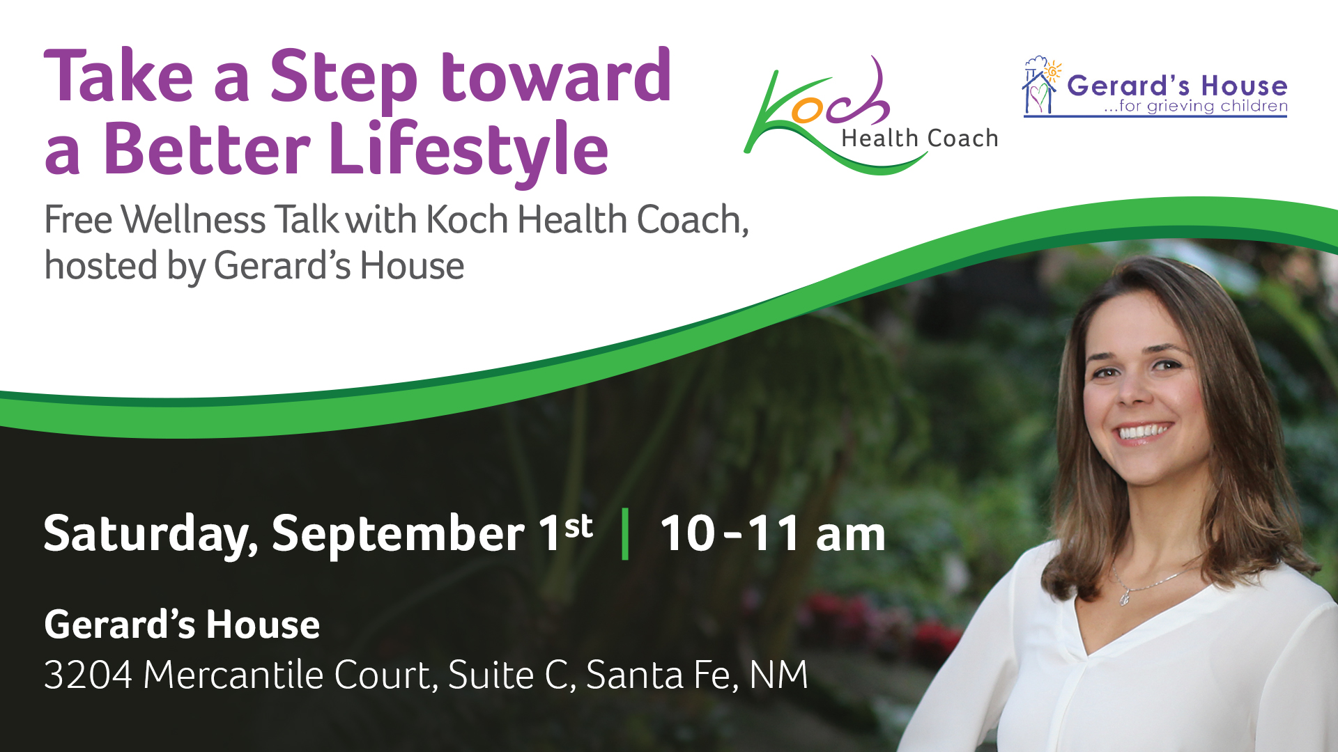 Take a Step toward a Better Lifestyle @ Gerard's House